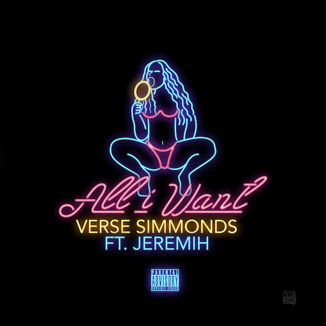 Verse Simmonds ft. Jeremih – All I Want (DJ Service Pack)