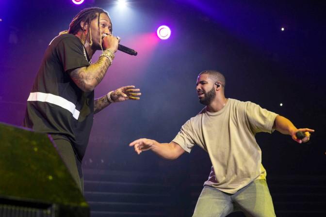 Future Brings out Meek Mill, Nicki Minaj, And Drake Hot 107.9's Birthday Bash 20!