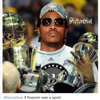 My Favorite #FutureHive Reaction (@WhoIsRonndell) to #DS2 @1Future