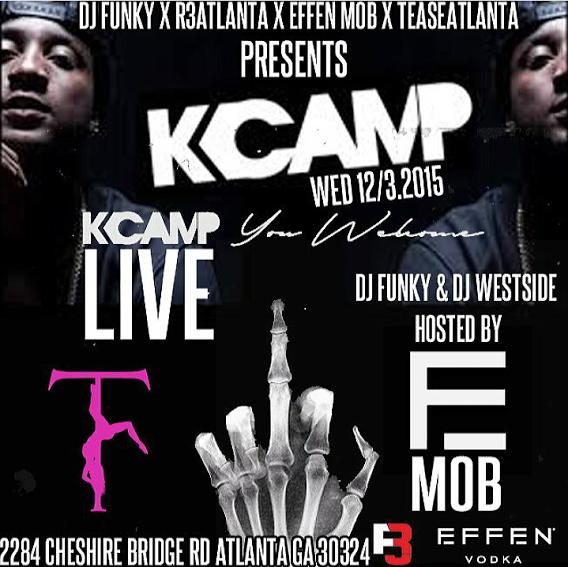 [Event] K Camp live at Tease Atlanta #Tonight