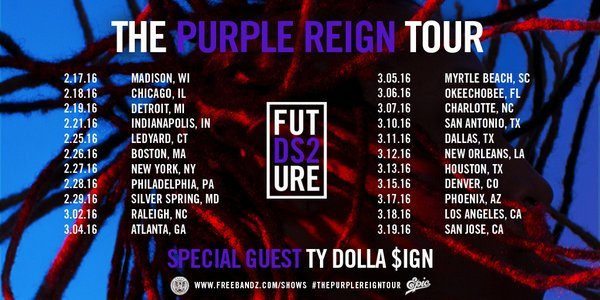 @1Future's Purple Reign Tour Continues to Shower Fans|Exclusive NYC Footage Future sets the record Straight!