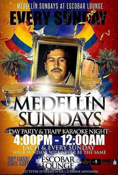 [Event] #MedellinSundays Day Party & Trapp Karaoke Each & Every Sunday Kicks Off April 23 @ Escobar Lounge
