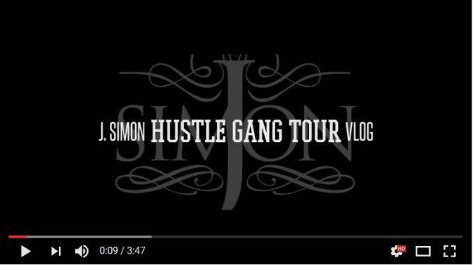 "J. Simon – ""Hustle Gang Vlog"""