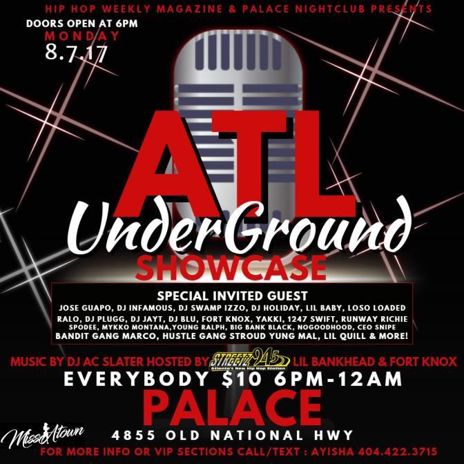 Hip Hop Weekly Invades Atlanta w Dj AC Slater & Dj Holiday