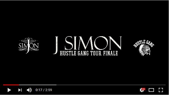 J. Simon – Hustle Gang Tour Finale Vlog