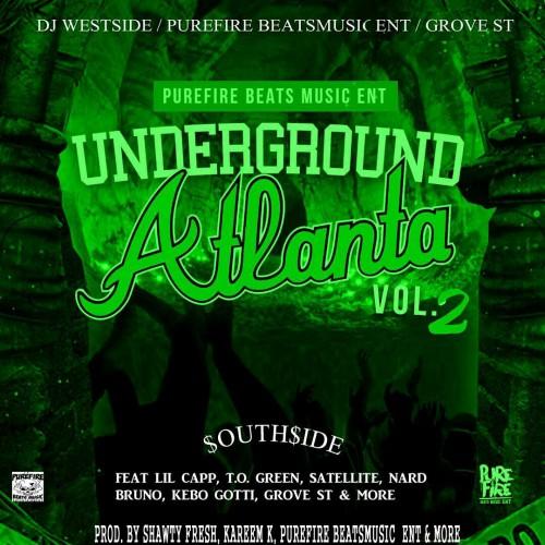 "Kareem K of Pure Fire Beats releases ""Underground Atlanta vol 2"" Mixtape"